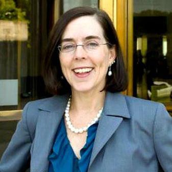 Photo of Oregon Governor Kate Brown