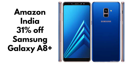 Avail Massive Discount of 31% on Samsung Galaxy A8+ From Amazon | TechRounder