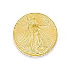 JewelryWeb Solid 22K 1/10th oz American Eagle Coin QTP157130Y