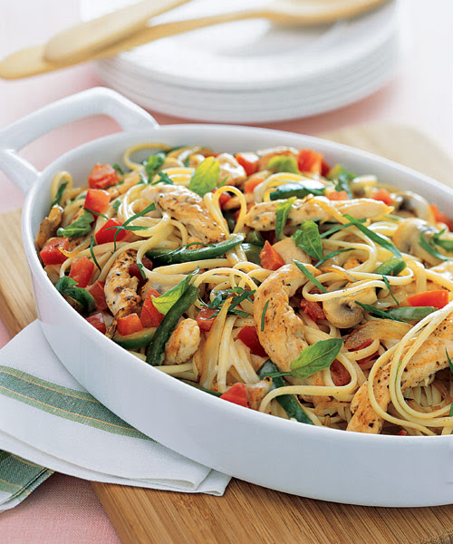 Cajun Chicken and Linguine - recipes and cooking guide