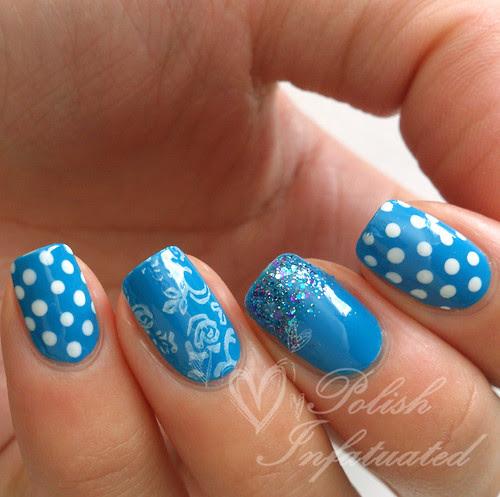 bright blue skittle