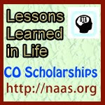 Lessons Learned in Life Scholarships for Colorado students
