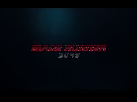 So stoked for Blade Runner 2