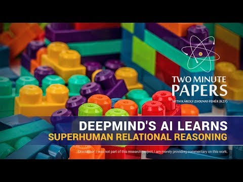 Superhuman Relational Reasoning (DeepMind)
