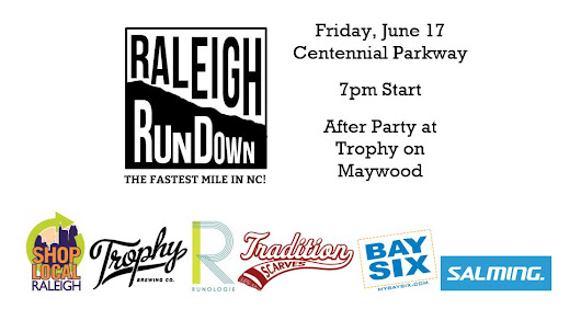 Press Release: The Raleigh RunDown Downhill Mile takes to Centennial Parkway this Friday, June 17th