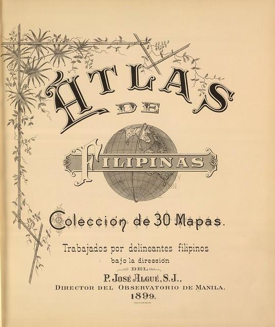 Atlas de Filipinas. Coleccion de 30 Mapas 1899