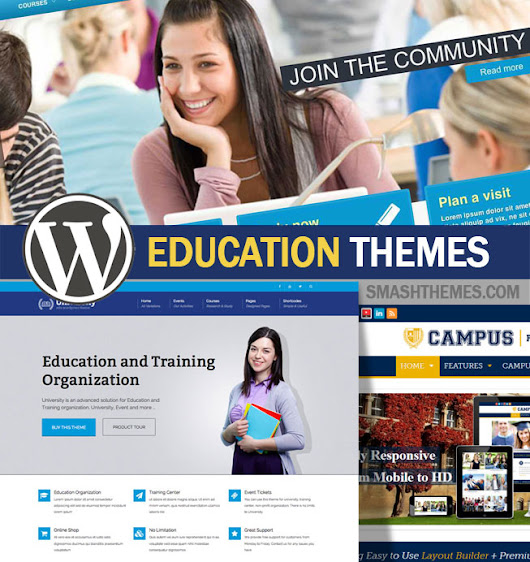 20+ Best WordPress Education Themes 2014