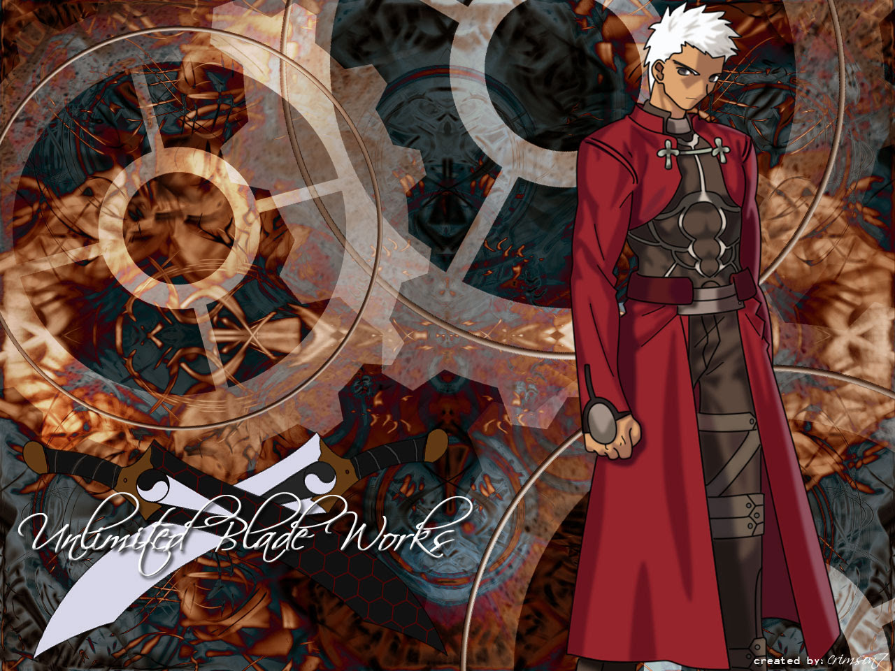 Fate Stay Night Wallpaper Unlimited Blade Works Minitokyo