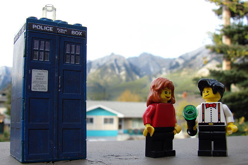 [Minifig 16/365] The Doctor And Amy Pond In Canmore, Alberta