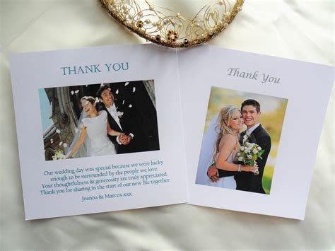 Wedding Photo Thank You Cards   Wedding Stationery
