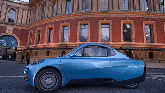 The tiny car that runs on hydrogen and emits only water - CNN