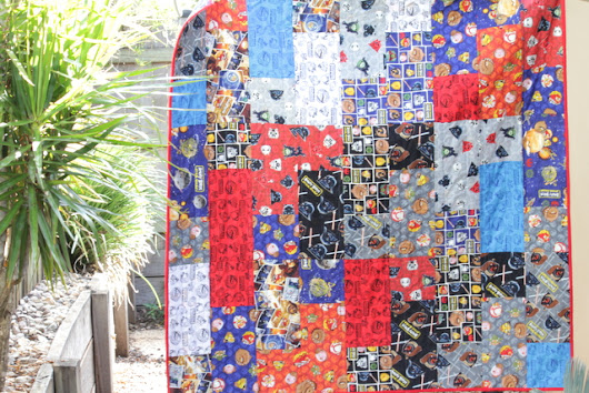 Fat Quarter Fizz Quilt - The Crafty Mummy