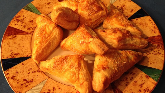 Sunday Brunch: Fig, Raspberry Chocolate Turnovers
