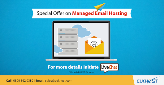 eUKhost Special Offer on Managed Email Hosting - eUKhost Official Web Hosting Forum