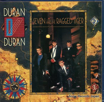 DURAN DURAN seven and the ragged tiger