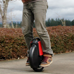 Gyroscopic Electric Unicycle