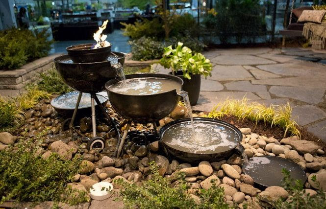 Recycling Garden Design Ideas Cool ideas: Home and garden shows