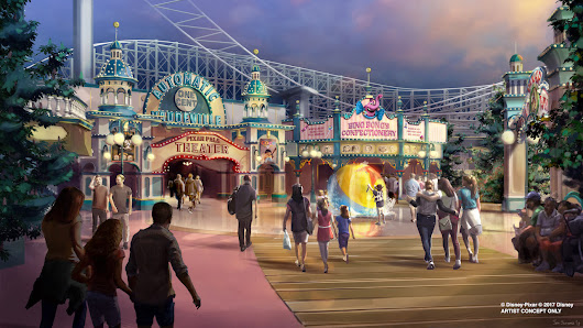 New Pixar Pier to Bring Favorite Pixar Stories to Life at Disney California Adventure Park; Limited-Time Pixar Fest Celebration Coming Throughout Disneyland Resort
