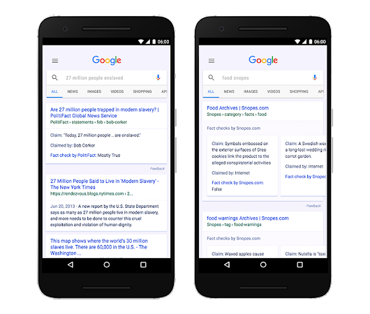 Fact Check now available in Google Search and News around the world