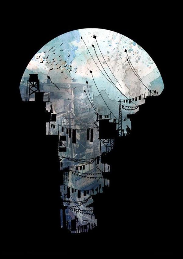 Suprisigly Genius Negative Space Art Exampls (39)