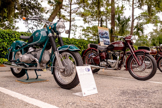 Riding Into History at the Ponte Vedra Auto Show - Riding into History