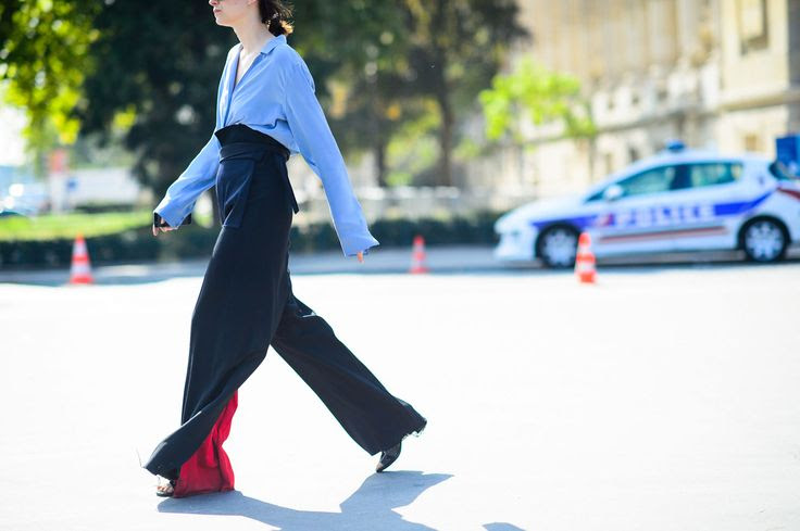 On the Streets of Paris Fashion Week Spring 2015 - Paris Fashion Week Spring 2015 Day 9