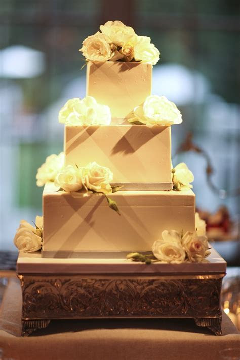 Elegant Modern Wedding Cake   Elizabeth Anne Designs: The