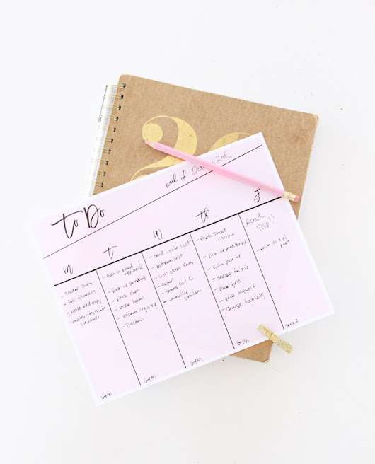 Get Organized With This Printable To-Do List – Scrap Booking