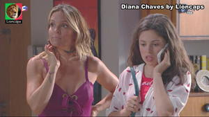 Diana Chaves sensual na novela Vidas Opostas