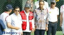 Wakil Presiden Jusuf Kalla dan Menteri Pekerjaan Umum dan Perumahan Rakyat (PUPR) Basuki Hadimuljono