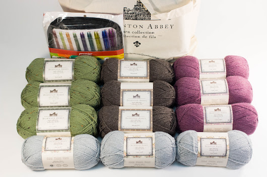 Premier Downton Abbey Yarn and Needles Bundle