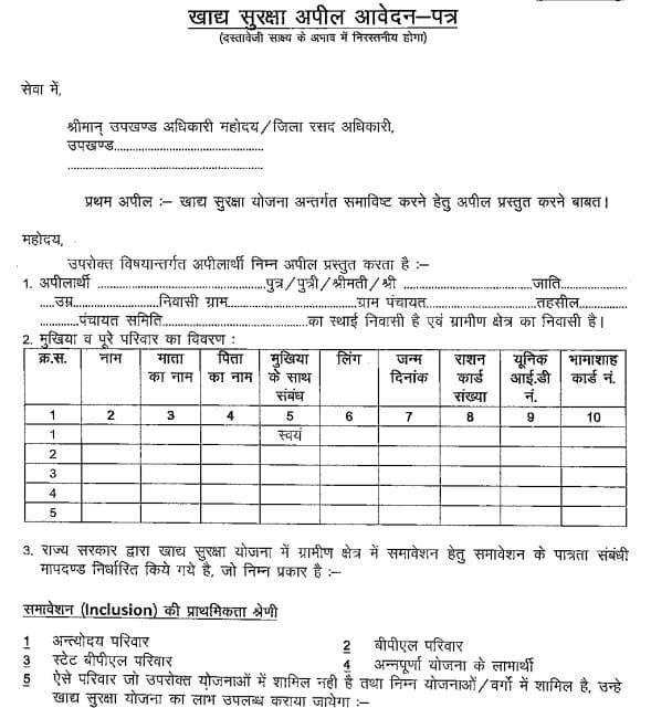 Check Rajasthan Ration Card List 2018 2019 Application