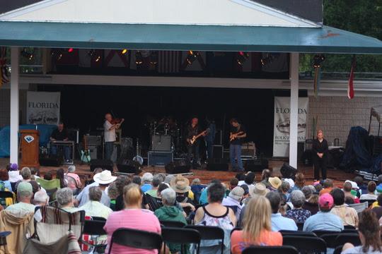 Mainstage at the Florida Folk Festival