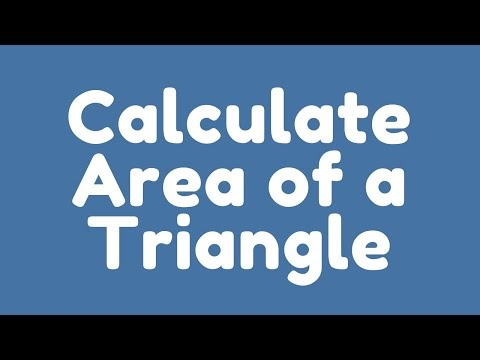 How To Calculate Area Of Triangle Through A Java Program