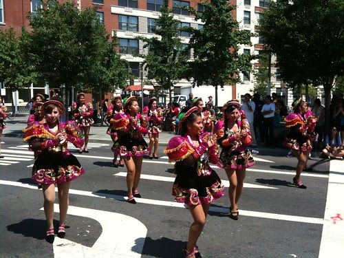 Bolivian Day parade, Jersey City