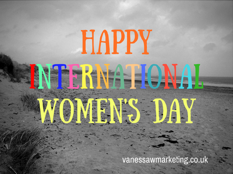 Free copywriting or marketing help on International Women's Day - Vanessa Williams Copywriter