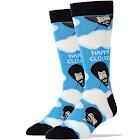Bob Ross Happy Clouds Men's Crew Socks