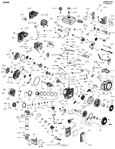 Kohler CH440-3154 BASIC Parts Diagram for Engine