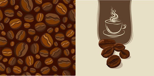 Vector Material Coffee Beans - 365psd