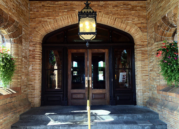 Main Entryway to the Mansion at the Cranwell Resort, Spa, and Golf Club