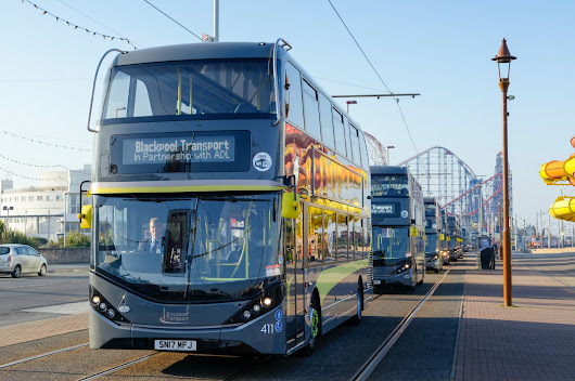 Blackpool Transport launches more Enviro400 City buses