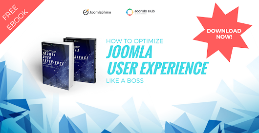 [July giveaway] Free eBook: How to optimize Joomla User Experience like a boss!