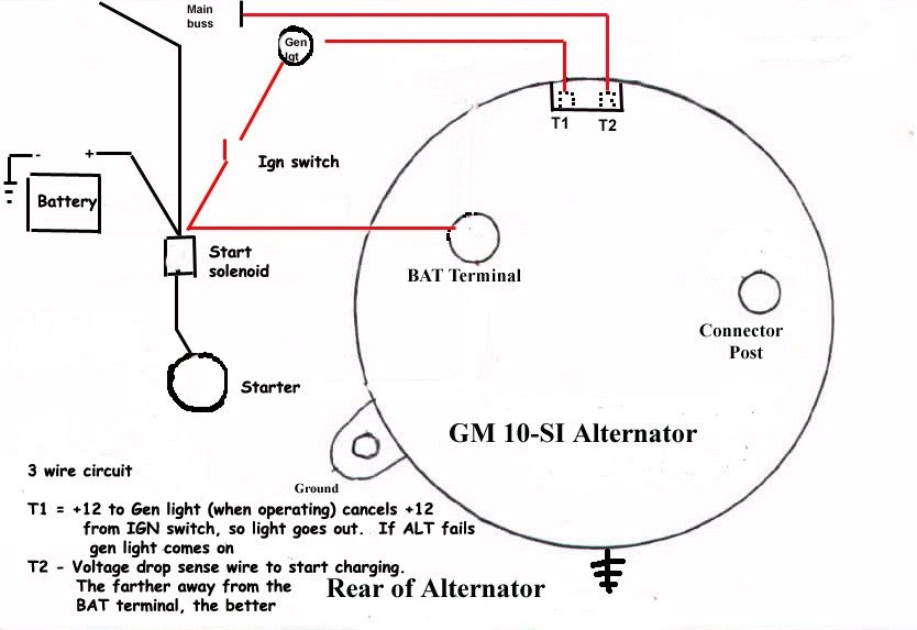 Bosch 24v Alternator Wiring Diagram