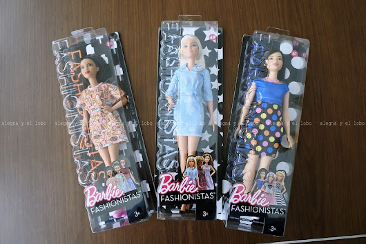 barbie fashionistas 2017: double denim look, polka dot fun y style so sweet