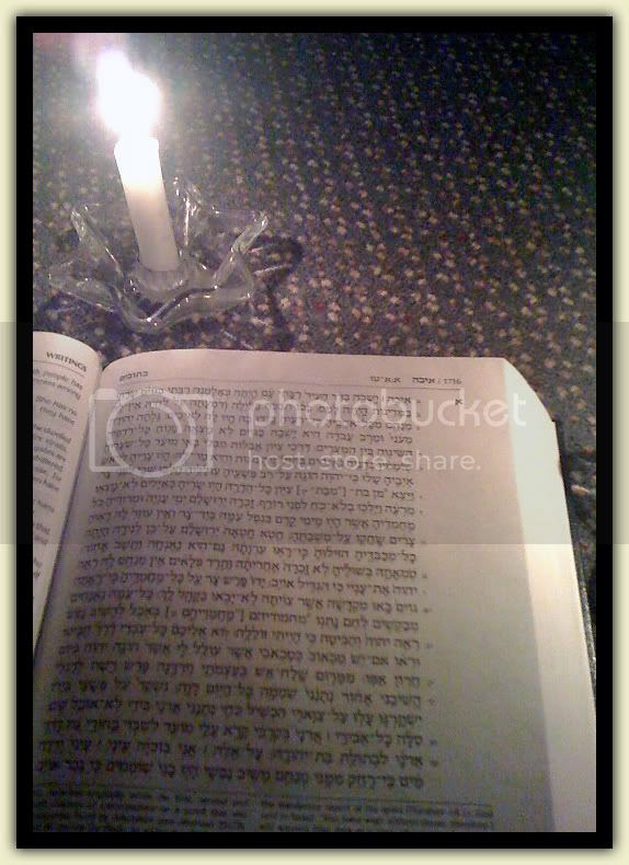 Lamentations by Candlelight