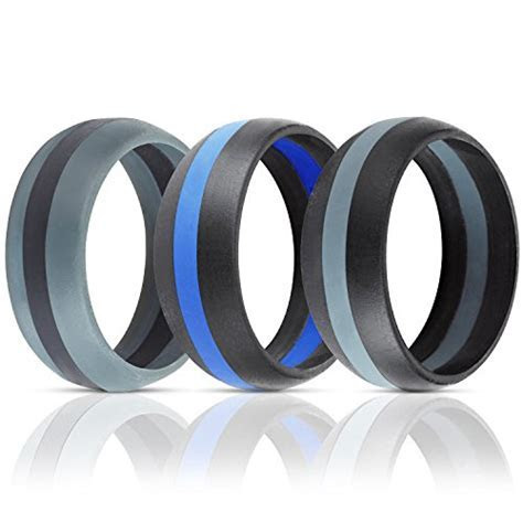 ThunderFit Silicone Wedding Band / Engagement Ring   3