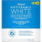 Crest Noticeably WhiteStrips Dental Whitening Kit - 20 strips