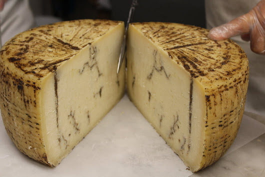 Truffle cheese from Italy