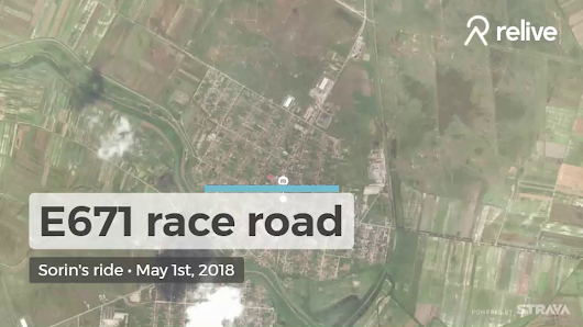 Relive 'E671 race road'