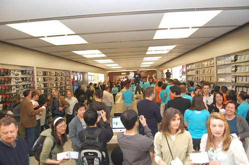 Apple Store Vancouver by John Biehler